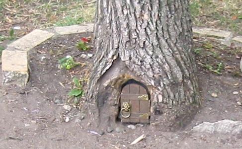 Minnesota Lake Harriet Elf Tree