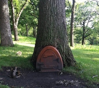 NOTE: There Is A Similar Elfin Door At The Base Of A Tree In ...