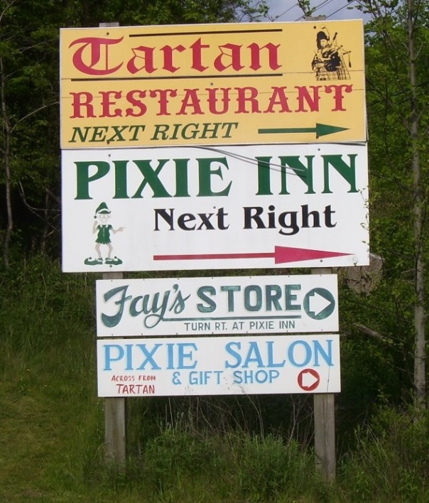 north-carolina-pixie-inn-signs