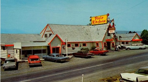 The Pixie Kitchen Restaurant, Lincoln City, Oregon