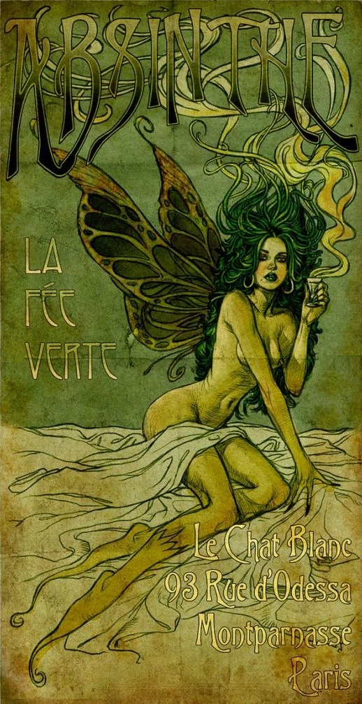 Image result for fairy art nouveau
