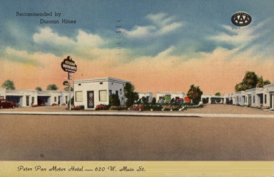 Peter Pan Motor Lodge Anaheim Ca