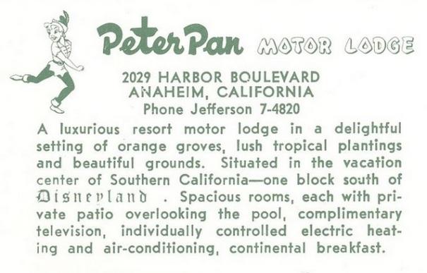 california-anaheim-peter-pan-motor-lodge-postcard-summary