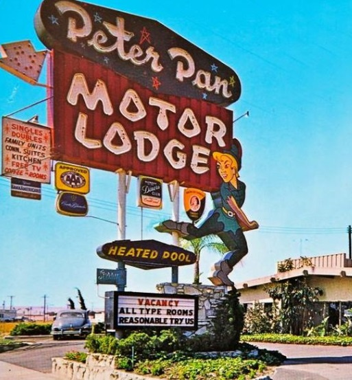 california-anaheim-peter-pan-motor-lodge-sign