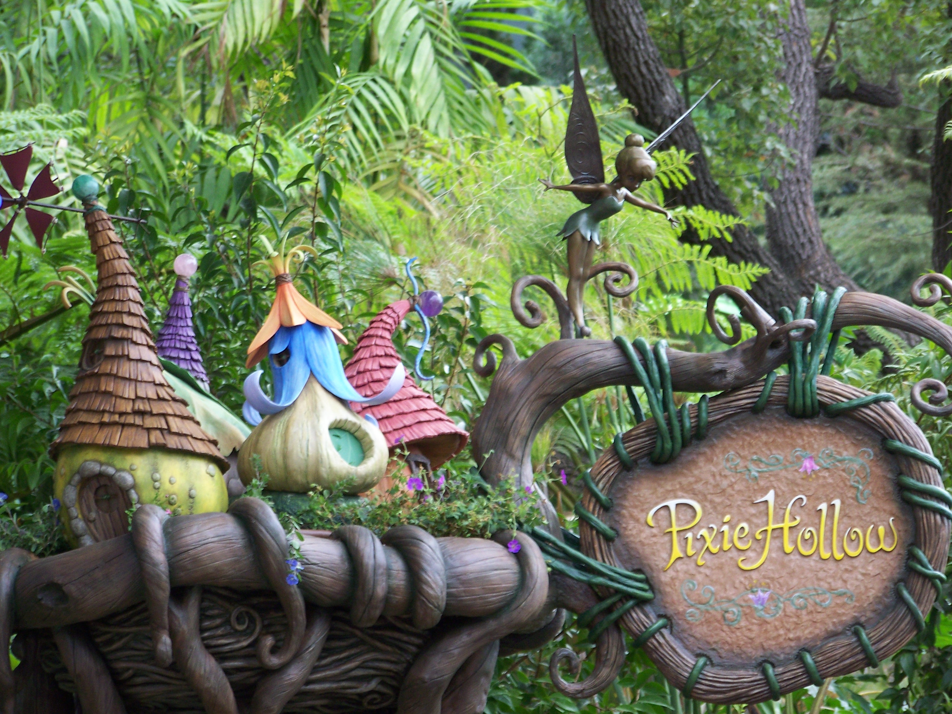 Pixie Hollow Fairy Garden EPCOT Disney World FL