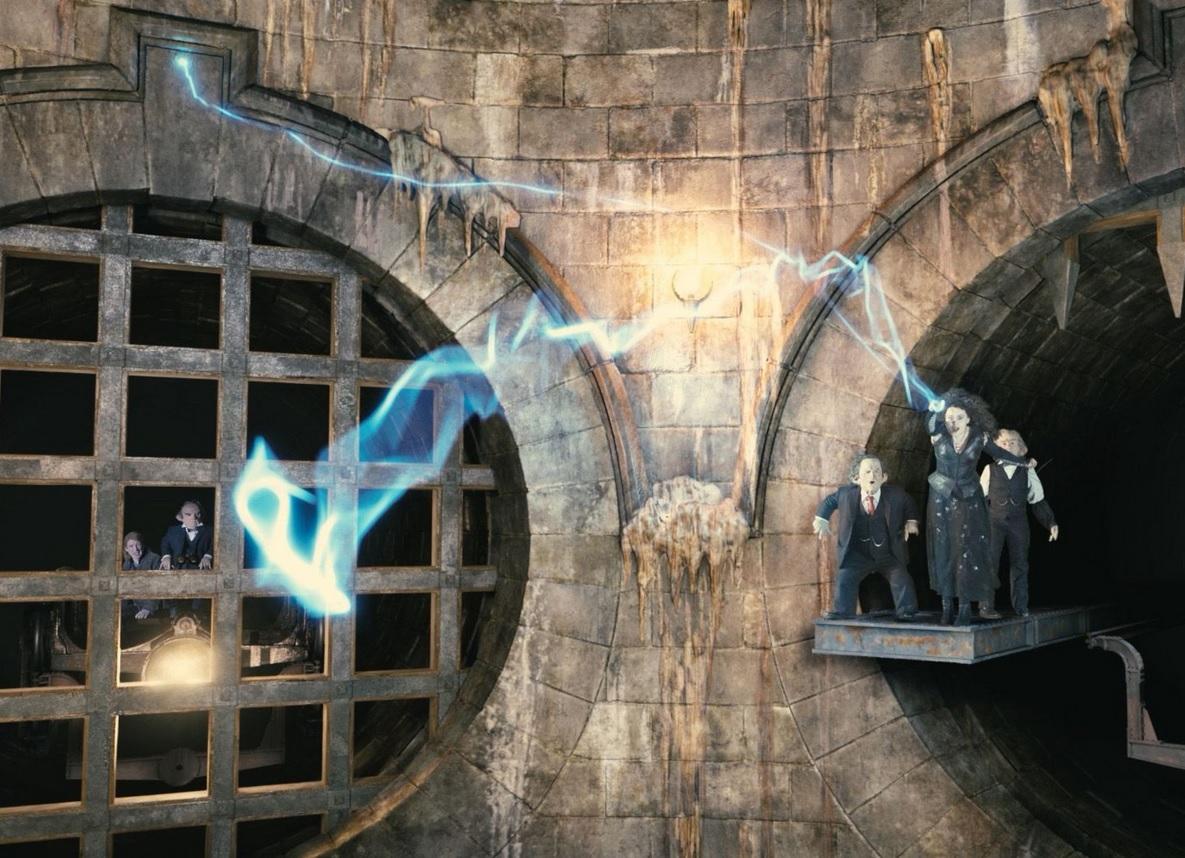 Escape From Gringotts Universal Studio Fl