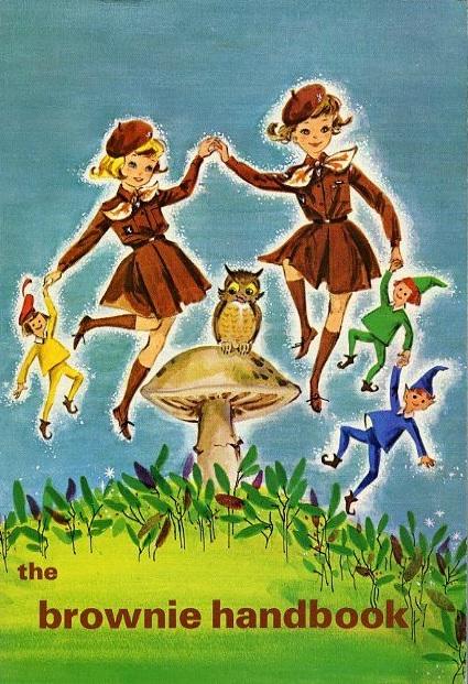 Vintage 1963 Brownie Handbook