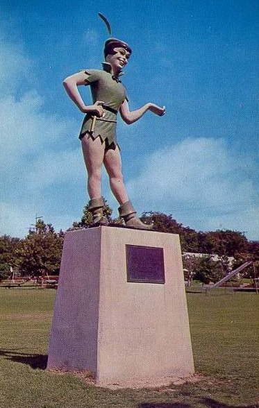 texas-weathreford-peter-pan-statue-cherry-park