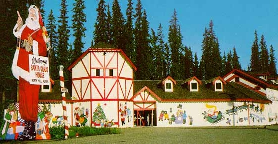 alaska north pole santa claus house narrow - Santa And The North Pole