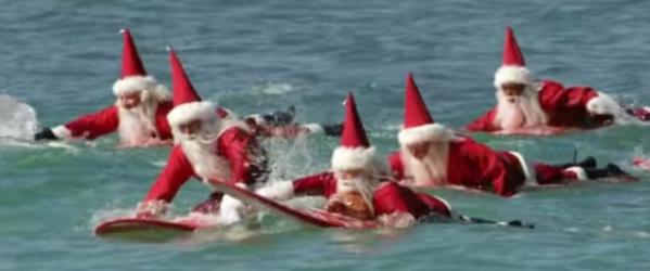 florida-cocoa-beach-surfing-santas