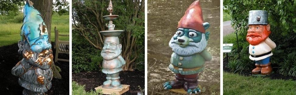 Ohio Kirkland Holden Arboretum Gnomes 5