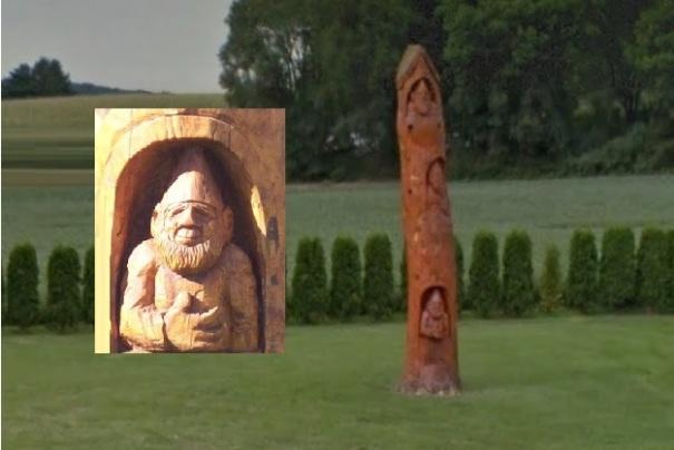 pennsylvania-kutztown-gnome-tree-totem-closeup