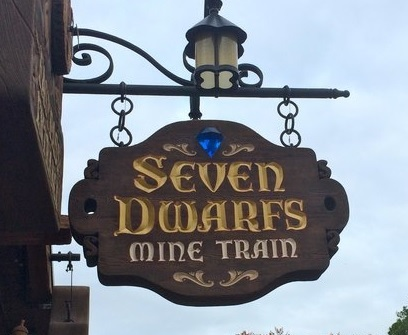 florida-disneyland-seven-dwarfs-mine-train-sign