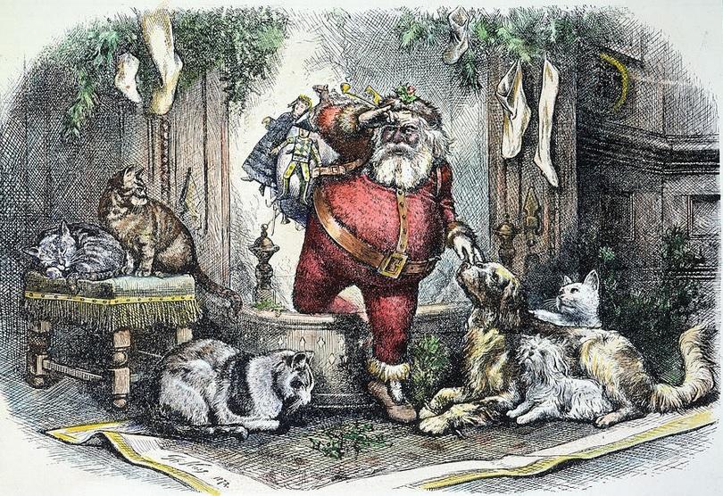 Thomas Nast - święty Mikołaj