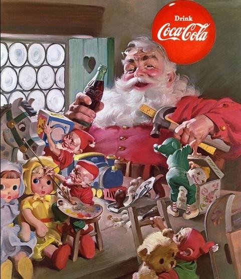 Santa Claus Toys : Coca cola santa claus atlanta ga