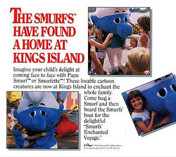 ohio-kings-island-smurf-ride-ad