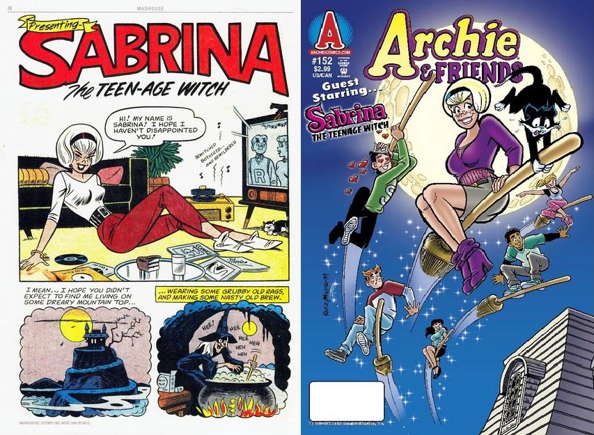 Sabrina the teenage witch toon porn