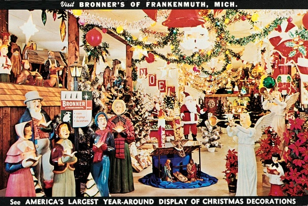michigan-frankenmuth-bronners-christmas-wonderland-postcard