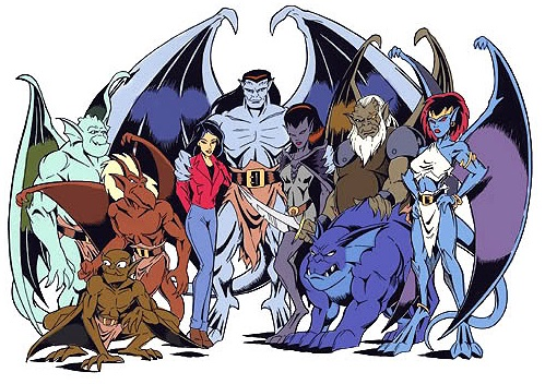 New york gargoyles cast