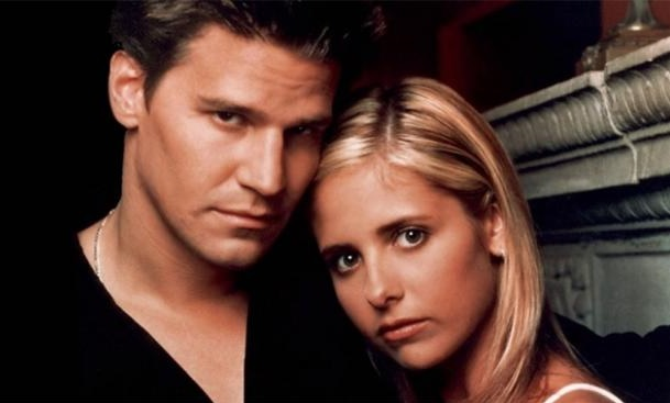 Image result for Buffy Summers & Angel