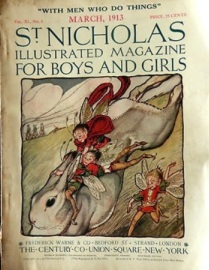 st-nicholas-magazine-cover-march-1913-fairies-rabbit
