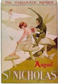 st-nicholas-magazine-cover-midsummer-fairy-mushroom